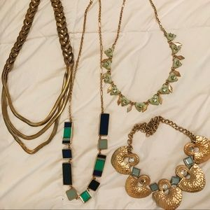 Jewelry - LOT of 4 Necklaces